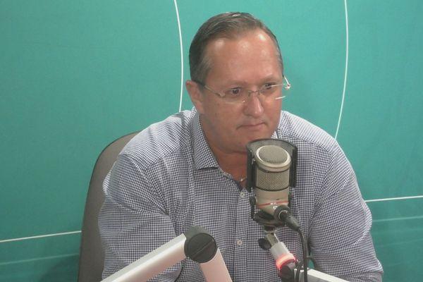 David Riché maire de Roura, président des maires de Guyane