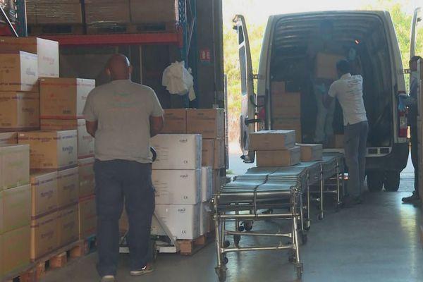 Transport de produits médicaux 2