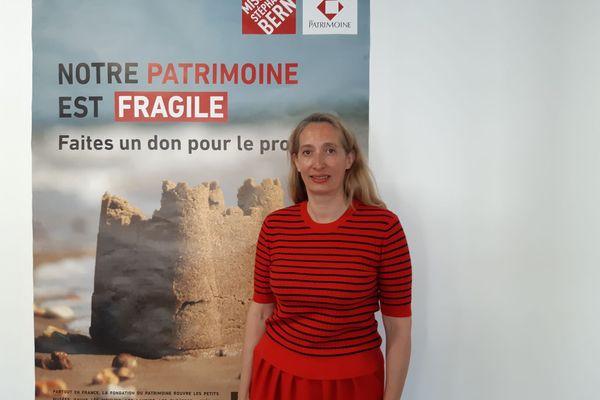 Célia Vérot, directrice générale de la Fondation du Patrimoine