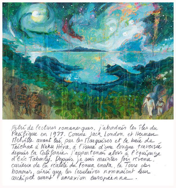 """Extrait du livre 3escales en Polynésie"""""""