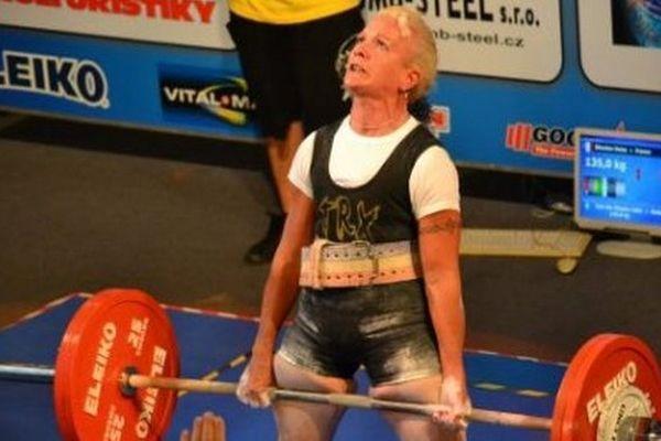 Daisy Blondan, vice-championne du monde de force athlétique