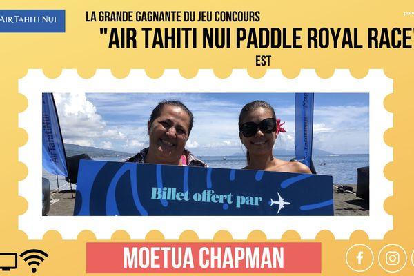 Gagnant Air Tahiti nui Paddle