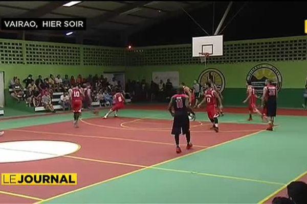 Basket : match exhibition au sommet pour la sélection de Tahiti