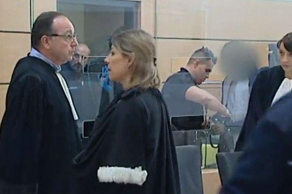 Capture d'écran reportage France 3 Aquitaine au tribunal correctionnel de Périgueux