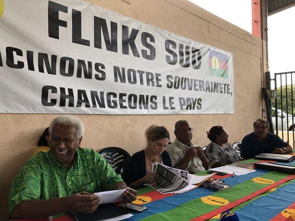 Liste FLNKS Sud Provinciales 2019