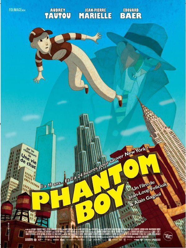 Phantom Boy affiche