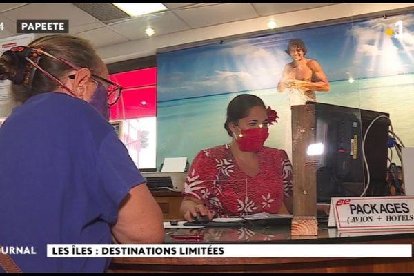 Les agences d'Air Tahiti de nouveau ouvertes au public
