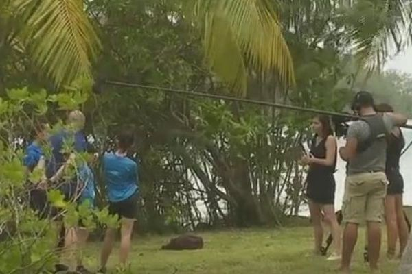 Tahiti Quest 4 tournage