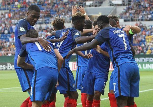 Equipe de France des moins de 19 ans, championne d'Europe
