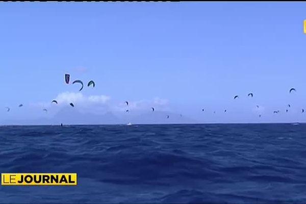 Tahiti - Moorea en kitesurf