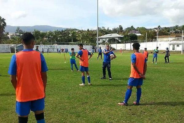 Jeunes footballeurs de la Tamponaise