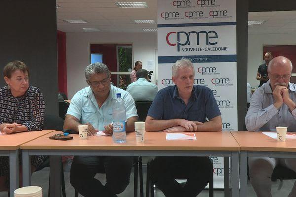 conférence de presse CPME
