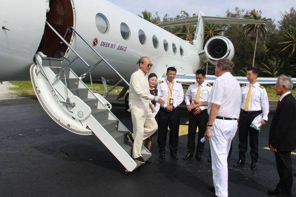 PDG Hainan Airlines Bora Bora