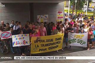 Les enseignants du privé observent une journée de grève