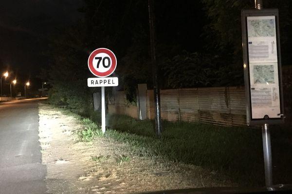 Accident route de Montabo