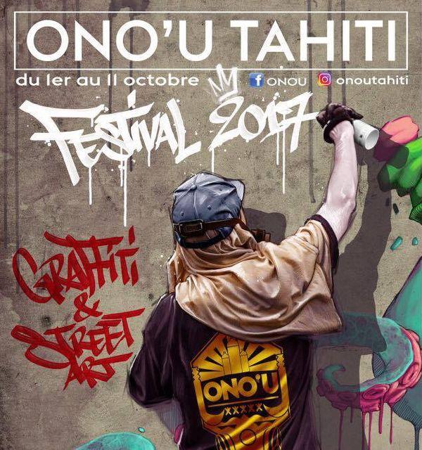 L'affiche de l'édition 2017 d'ONO'U