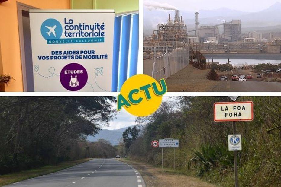 Continuité territoriale, Vale et La Foa : l'actu à la 1 du mardi 25 février 2020 - Nouvelle-Calédonie la 1ère