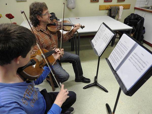 Stage de violon