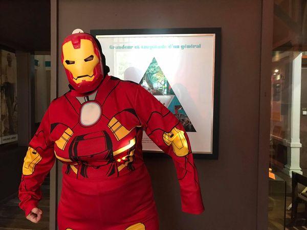 Nuit des musées Avengers