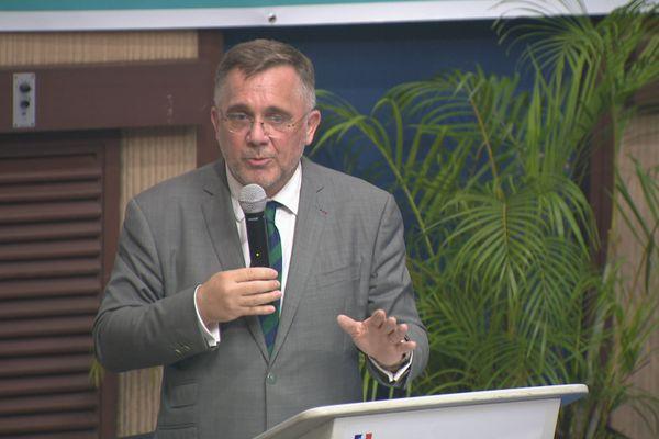 Thierry Queffelec, préfet de Guyane