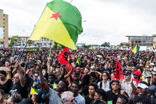Greve Guyane 2017