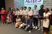 Les 13 lauréats de la bourse Alizés 2021.