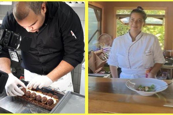 Deux chefs cuisiniers polynésiens
