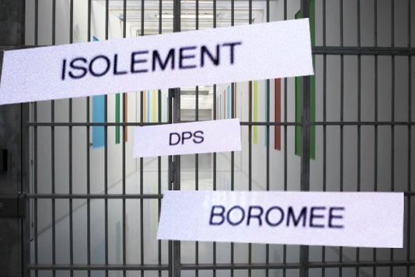 Les barreaux de la prison d'Alençon-Condé-sur-Sarthe.