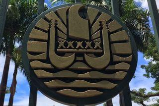 L'emblème de la Polynésie