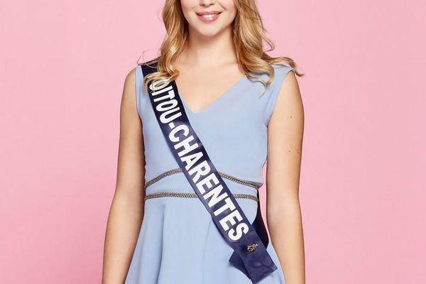 Marion Sokolik, 23 ans, Miss Poitou-Charentes