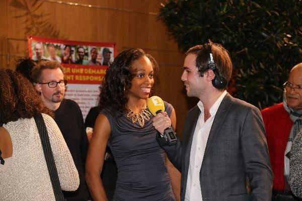 Mandy François-Elie interviewée par Martin Baumer