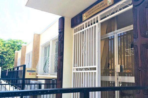 Siège de l'Asee, Alliance scolaire, à Nouméa