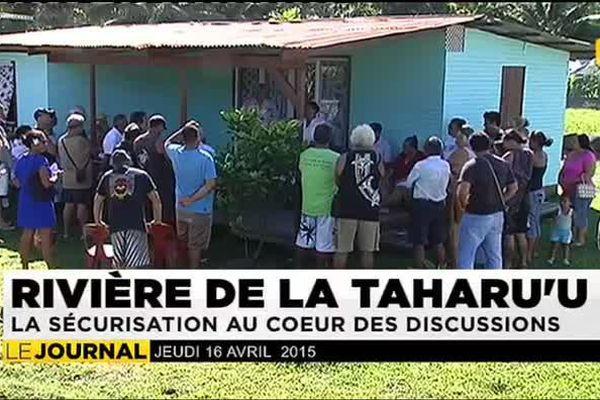 L'aménagement de la Tarahu'u inquiète les riverains