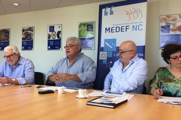 Conférence de presse Medef avant nouveau gouvernement (25 août 2017)