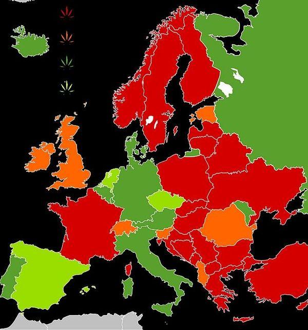 L'Europe et le cannabis