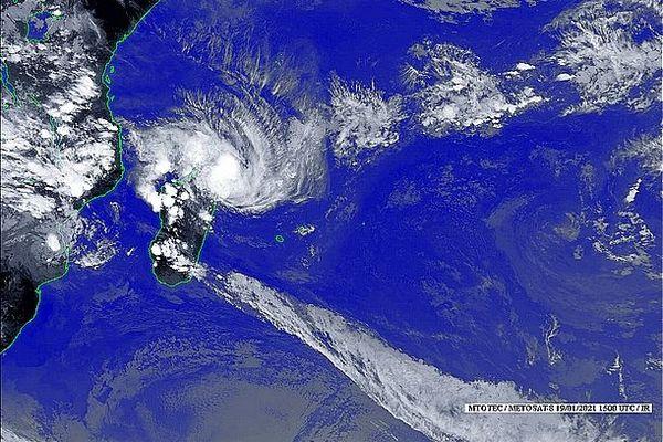 Image satellite 20 janvier 2021