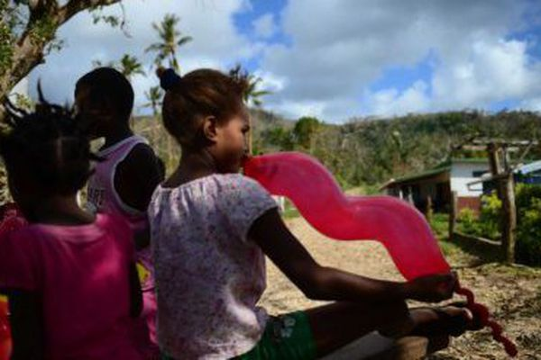 Écoliers du vanuatu