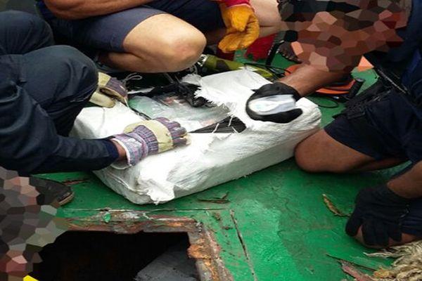 Drogue : saisie de 223 kgs de cocaïne au large de Fort-de-France