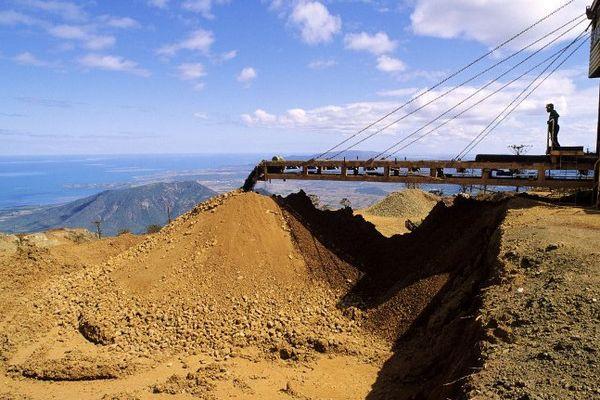 Extraction du nickel en Nouvelle-Calédonie