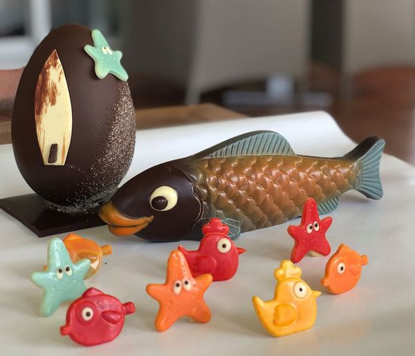 Poisson chocolat David Vignau