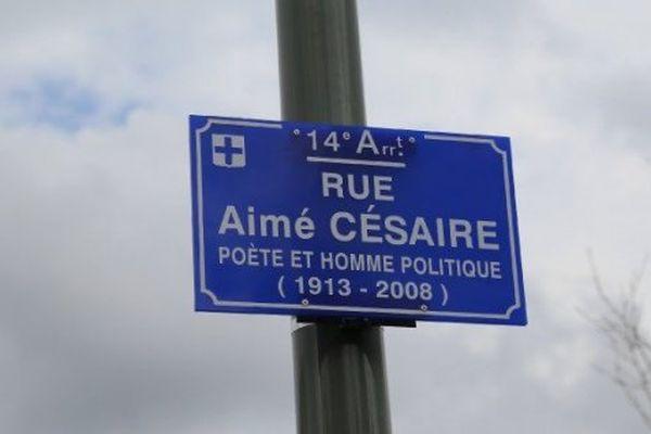 Rue Aimé Césaire à Marseille