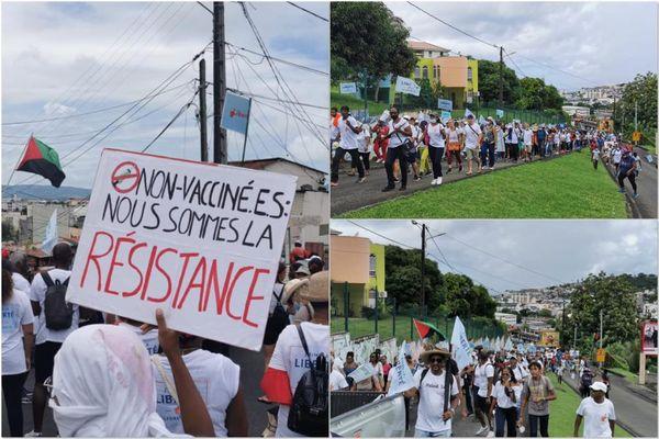 Manifestation de rue /pass et vaccin