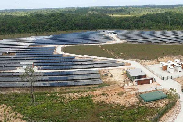 Toucan, la nouvelle centrale solaire de Montsinéry-Tonnégrande avec stockage