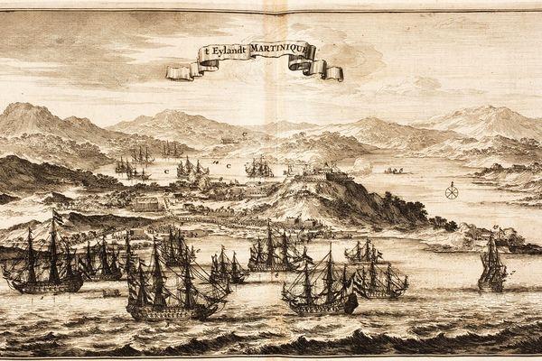 Martinique vers 1675