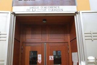 La cour d'Assises, à Saint-Denis.