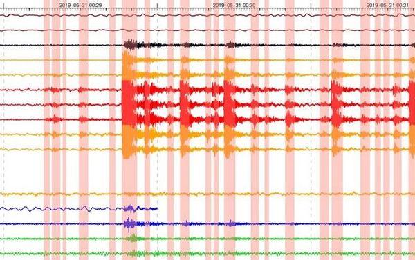 volcan reprise d'activité sismique du Piton de la fournaise 310519