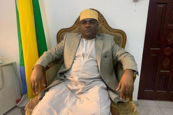 Fakridine Mahamoud, ministre de l'Intérieur de l'Union des Comores