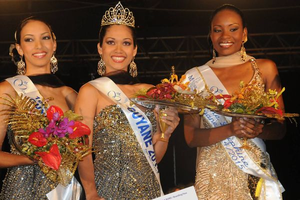 Miss Guyane 2014 et ses dauphines