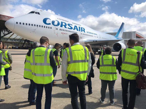 dernier 747 Corsair
