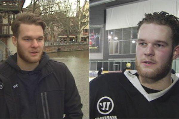 Rencontre avec Nicolas Siefriedt, un jeune hockeyeur Saint-Pierrais qui joue à Strasbourg  [PORTRAIT]